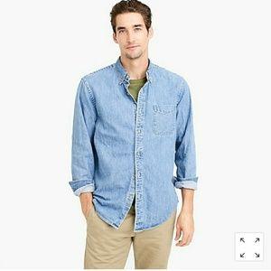 Jcrew Indigo denim shirt